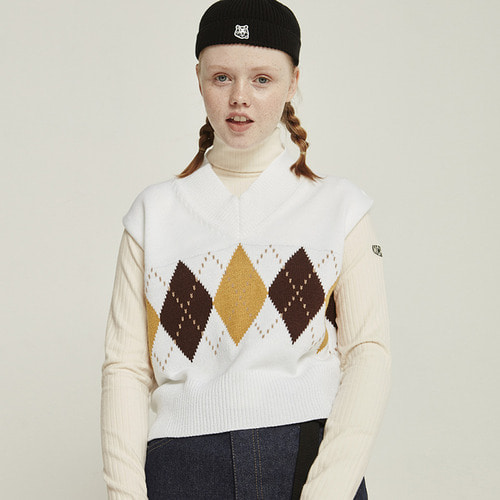 MG8F MCHGLV TURTLENECK (IVORY)