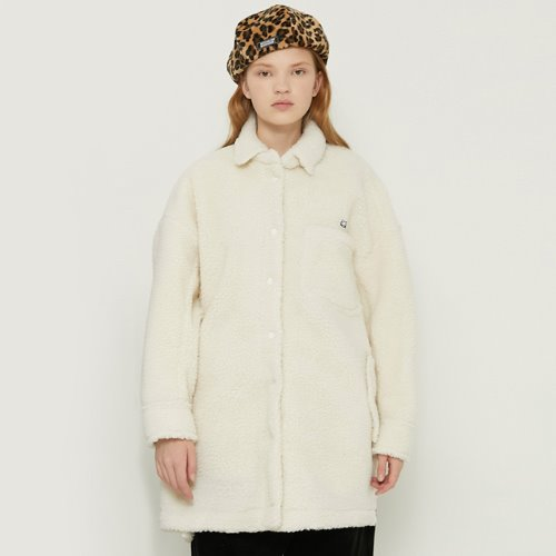 [11/2예약]MG8F DUMBLE BOX COAT (IVORY)