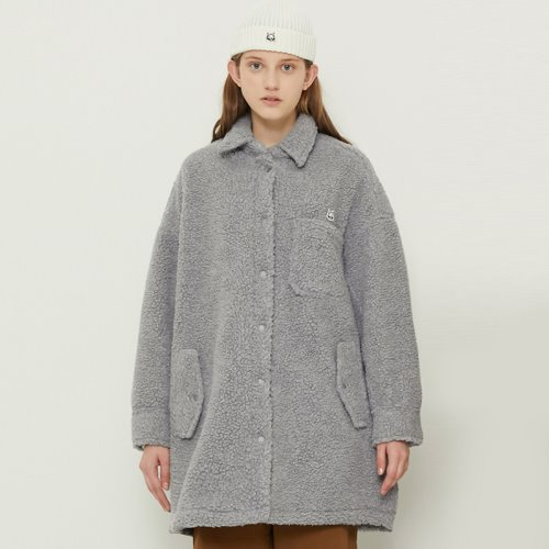 [11/2예약]MG8F DUMBLE BOX COAT (GRAY)