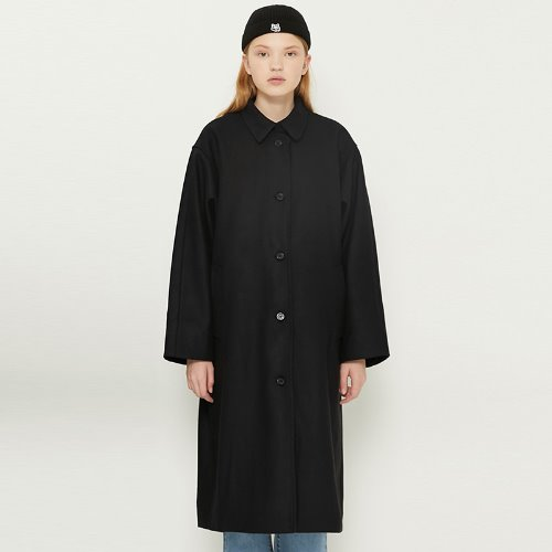MG8F OVERSIZE COAT (BLACK)