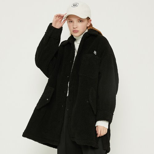 [11/2예약]MG8F DUMBLE BOX COAT (BLACK)