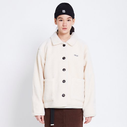 MG8F DUMBLE SHORT JACKET (IVORY)
