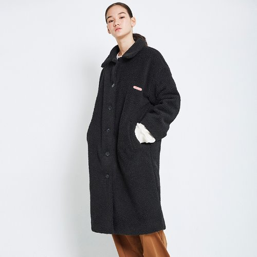 MG8F DUMBLE LONG COAT (BLACK)