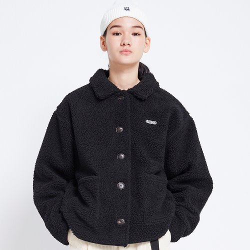 MG8F DUMBLE SHORT JACKET (BLACK)