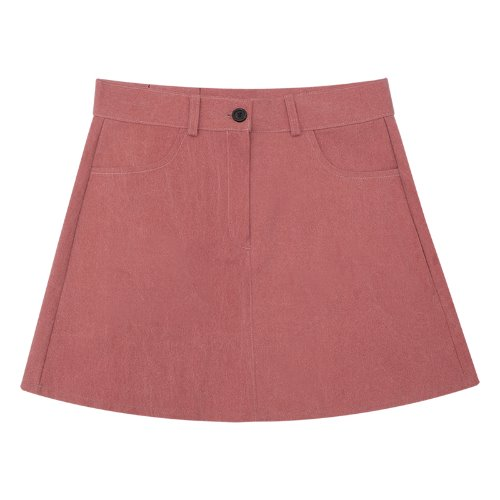 MG9S BASIC MINI SKIRT (PINK)