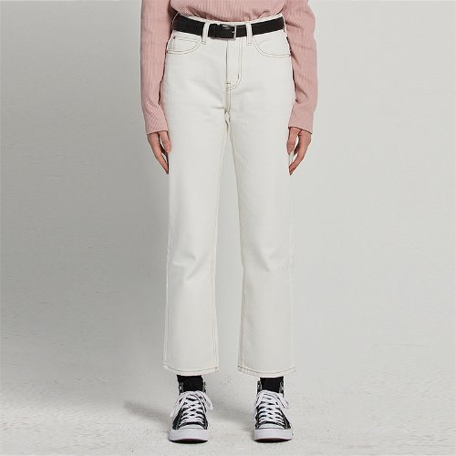 MG9S DENIM BASIC PANTS (IVORY)