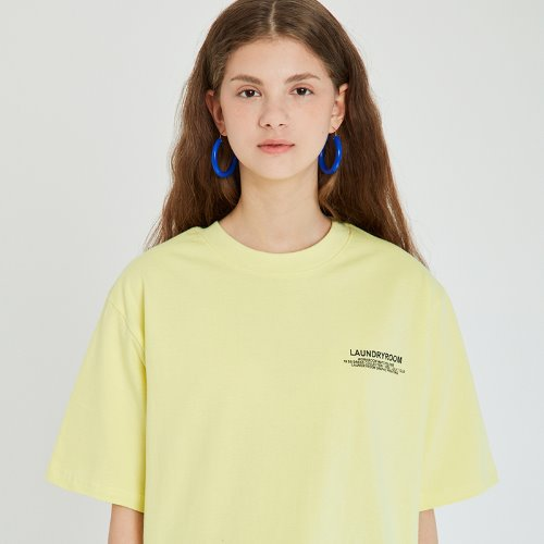 MG9S LAUNDRY TEE (LIGHT YELLOW)