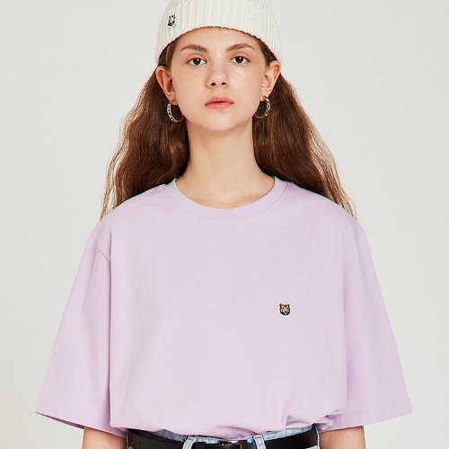 [7/19 예약배송] MG9S TIGER SIGNATURE TEE (LIGHT PURPLE)