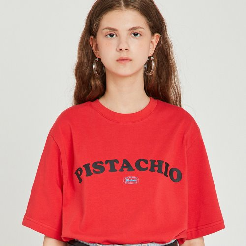 MG9S PISTACHIO TEE (RED)