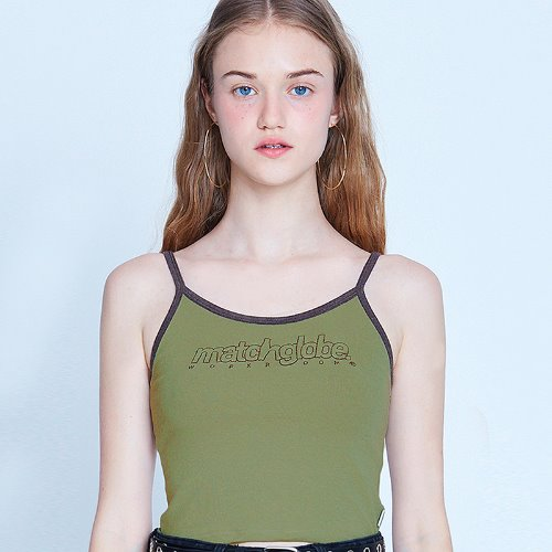 MG9S OUTLINE SLEEVELESS (KHAKI)
