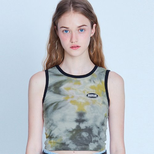 MG9S TIE DYE SLEEVELESS (YELLOW)