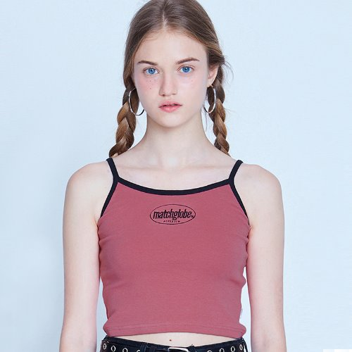 [7/29 예약배송] MG9S MATCH SLEEVELESS (PINK)