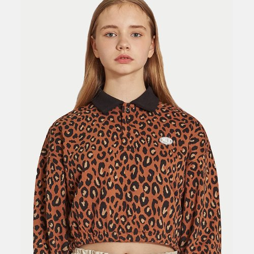 MG9F LEOPARD CROP MTM (BROWN)