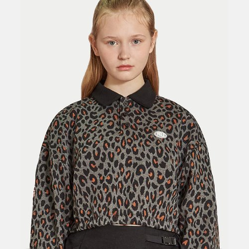 [11/7 예약배송]MG9F LEOPARD CROP MTM (BLACK)