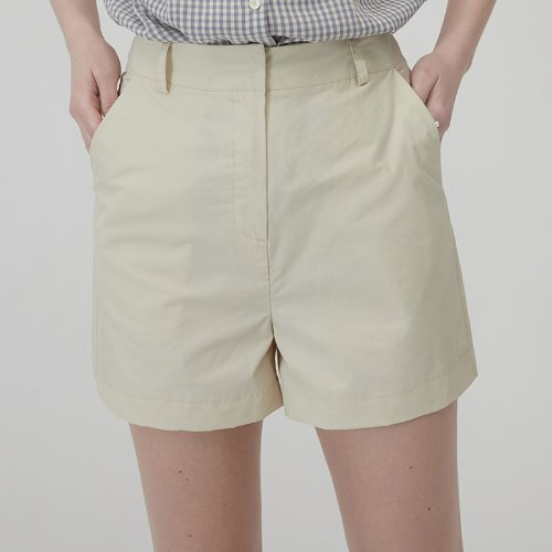 MG0S NYLON SHORTS (BEIGE)
