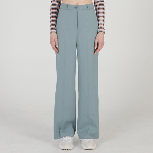 MG0S WIDE LONG SLACKS (DARK BLUE)