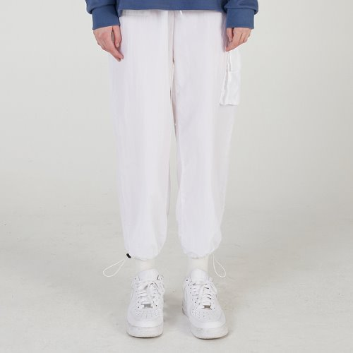 MG0S NYLON JOGGER PANTS (IVORY)