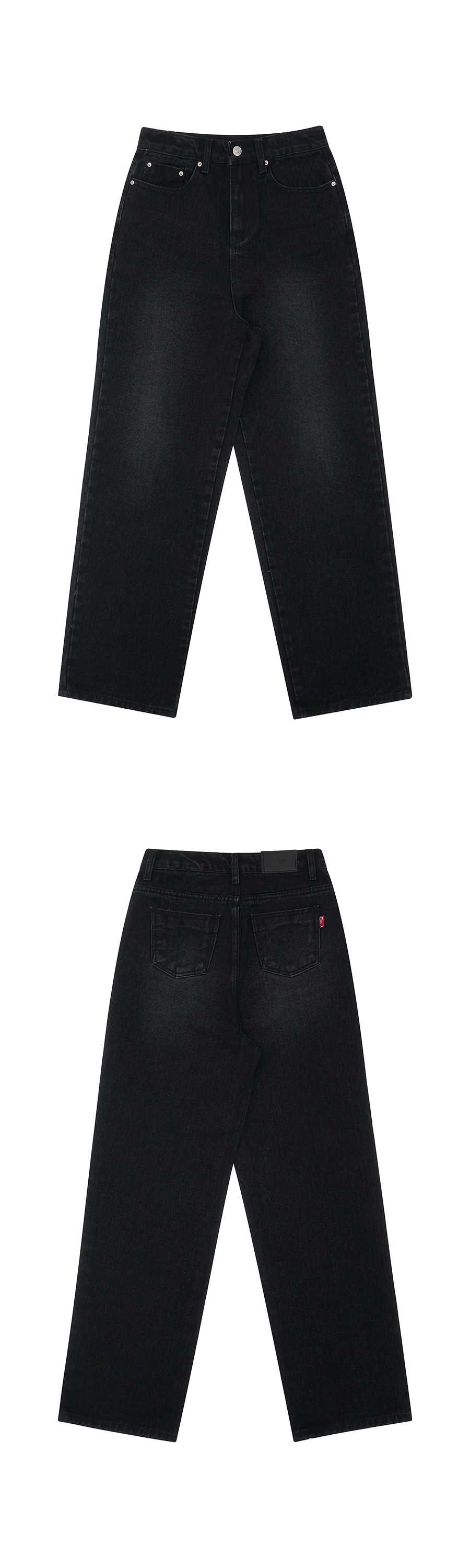 매치글로브(MATCHGLOBE) MG9S WASHING DENIM PANTS (BLACK)