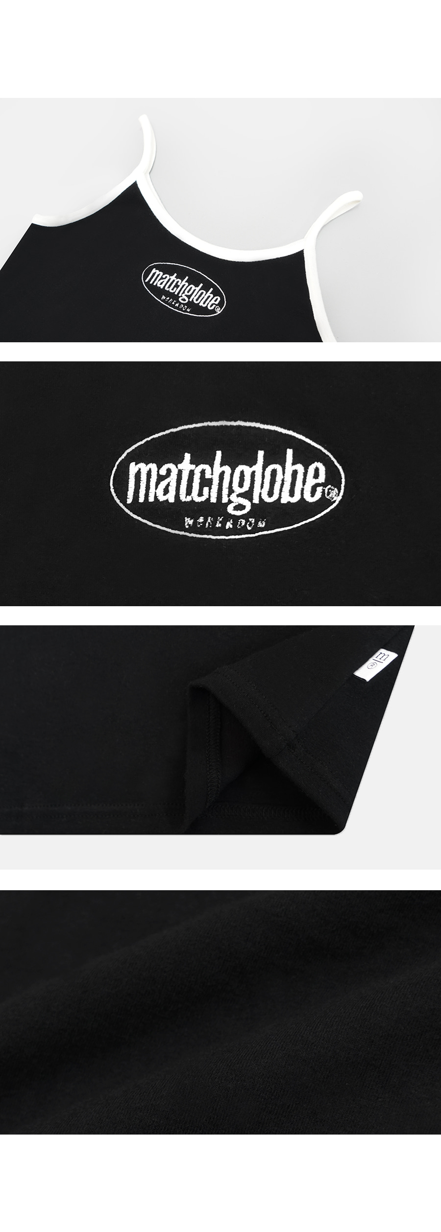 매치글로브(MATCHGLOBE) MG9S MATCH SLEEVELESS (BLACK)